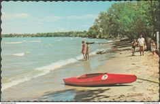 Other - Willow Beach, Lake Simcoe, Ontario, c.1960 - Canadian Post Card Co Postcard