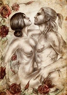 <3 <3 <3 Witcher 2 , Elven Bath by Agregor.deviantart.com on @deviantART
