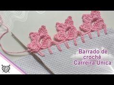 Crochet Boarders, Crochet Edging Patterns, Christmas Tree Pattern, Crochet Earrings, Crochet Hats, Embroidery, Stitch, Crafts, Pasta