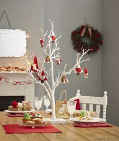 Twig Tree and Labels Wedding Decoration Bundle 5 Pack