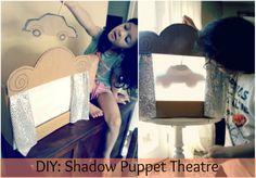 Salsa Pie: DIY: Shadow Puppet Theatre!