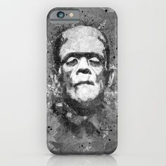 Frankenstein Phone Case Horror Movie Phone cases Also on many more products from clothing to phone cases and wall art etc  #frankenstein #monster #horror #movies