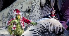 Dr. Seuss' How the Grinch Stole Christmas! presented every year at the Old Globe Theatre in Balboa Park
