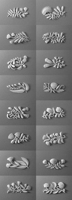 Vignettes by Elsa Mora Paper Vignettes. A Project in Progress.