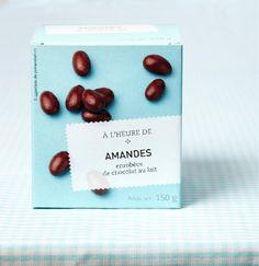 #Amandes enrobées de chocolat au lait. #Picard