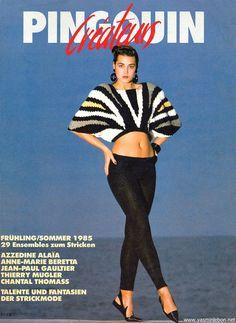 1985 Pingouin  Yasmin LeBon  www.yasminlebon.net