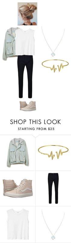 """Untitled #299"" by mynameisblrryface on Polyvore featuring Bling Jewelry, Vans, True Religion, Monki and Wolf & Moon"