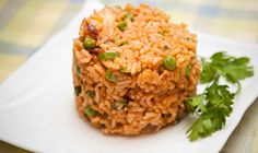 Arroz fácil con tomates secos y champiñones Fried Rice, Risotto, Fries, Ethnic Recipes, Food, Recipes With Rice, Vegetables, Cooking, White Rice