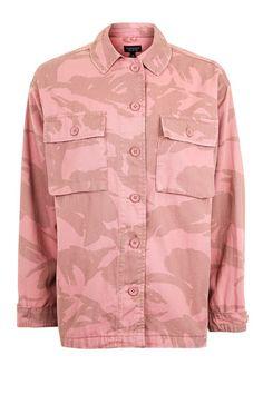 Pink Camouflage Shacket. Camo ShirtsShirt ... c8a63a322