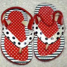 The Childrens Place Toddler Girls Flip Flops $1.00
