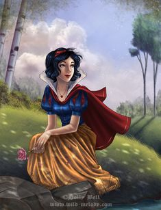 Snow White by *HollyBell on deviantART