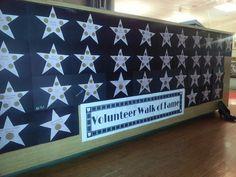 volunteer walk of fame