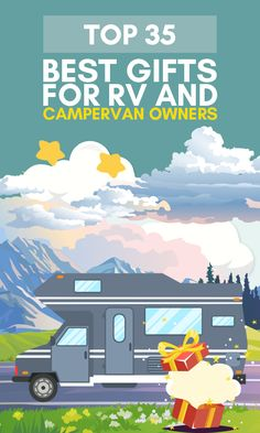 More than 70 million households in the U.S. consider themselves camping households.  Or perhaps you know one of the half-million Americans that call their RV their primary residence?  Give one our great gifts for RV & campervan owners and enable the recipient to spend time with his family out in the wilderness, making memories and disconnecting from the hustle and bustle of daily life.  #giftsforcampers #giftsforrvcampers #giftsforcampervanowners