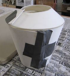 Creating & designing a template for a hand built teapot form - Insomnia Pottery Workshop