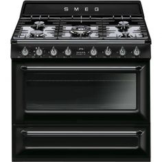 Buying a Smeg Victoria Aesthetic Freestanding Dual Fuel Oven/Stove from Winning Appliances is an investment in quality. We stock only the best appliances from the world's finest brands, trusted for reliable, efficient and convenient service. Four Piano, Freestanding Cooker, Home Appliance Store, Laundry Appliances, Range Cooker, Electric Oven, Electric Cooker, Stove Oven, Shopping