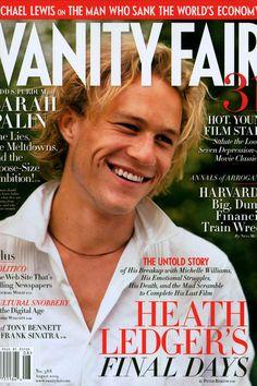 Heath Ledger, Jude Law, Michelle Williams, Colin Farrell, Christopher Nolan, Naomi Watts, Sarah Palin Hot, Seven Movie, Vanity Fair Magazine