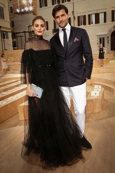 OP & JH in Rome - Valentino Fall 2015 Couture Front Row - July 9, 2015. #MirabiliaRomae