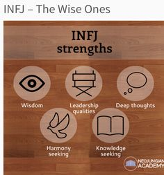 Not because INFJ but because this describe me or I wish it does