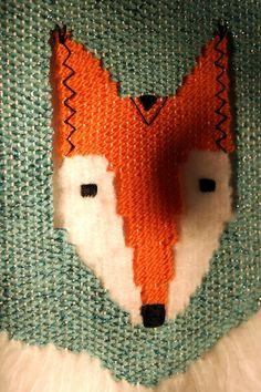 Fox tissage // Something beautiful