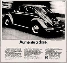 Anúncio Volkswagen 1500 - Fuscão - 1972