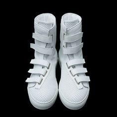 Kris Van Assche. http://hypebeast.com/2008/07/kris-van-assche-2009-springsummer-footwear-collection/