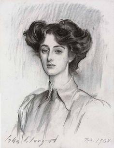 John Singer Sargent Portrait of Lady Elsie Meyer 1908