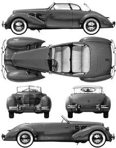 1937 Cord 812 Convertible Cabriolet