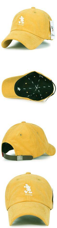 ae0bae24aea Disney Mickey Mouse Character Embroidery Trucker Hat Corduroy Baseball Cap