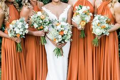 Orange Multiway Dresses by Goddess By Nature