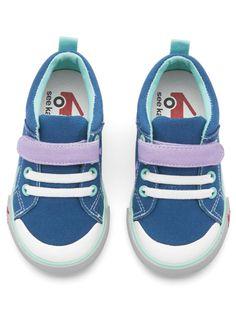 See Kai Run Kristin Navy/Lavender