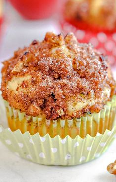 Homemade apple zucchini muffins or bread is a great mix with fresh fruit and vegetables inside. A sweet baked good for breakfast or dessert. #applezucchini #applemuffins #zucchinimuffins #applezucchinibread Apple Zucchini Muffins, Zucchini Muffin Recipes, Easy Apple Muffins, Fun Baking Recipes, Dessert Recipes, Healthy Desserts, Easy Recipes, Baked Vegetables, Fresh Fruit