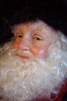 one of a kind santa dolls | ... santa is approx 22 tall he is a one of a kind santa is handsculpted