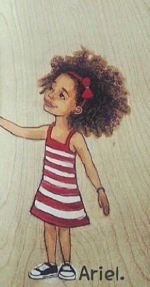 Natural Hair Art by Keturah Ariel
