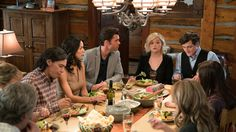 10 x 14 A nice family and friends dinner with Ty and Tim missing Canada: NEW episode Sunday, Feb 19 - Heartland
