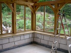 Oak framed sunroom Oak framed conservatory sunroom The post Oak framed sunroom appeared first on Einrichtungs ideen. Screened Porch Designs, Screened In Porch, Garden Room Extensions, House Extensions, Patio Design, House Design, Loft Design, Design Design, Oak Framed Extensions