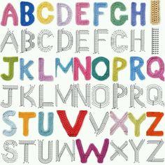 charted alphabet for single crochet Crochet Diy, Blog Crochet, Crochet Motifs, Crochet Amigurumi, Crochet Diagram, Afghan Crochet Patterns, Crochet Chart, Crochet Alphabet Letters, Crochet Letters Pattern