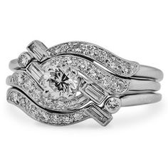 The Kinsella Diamond Wedding Ring Set