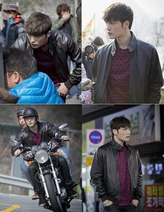 Jaejoong becomes a motorcyclist in still cuts for drama 'Triangle' | allkpop