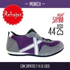 Rebajas en zapatillas Munich en Calzado Rodriguez