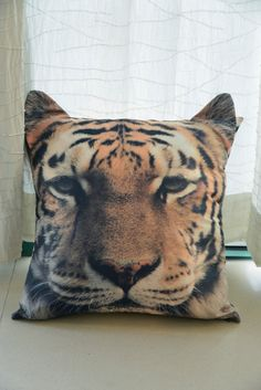 Tiger pillow pillow cover cushion cover tiger pillow door BENWINEWIN