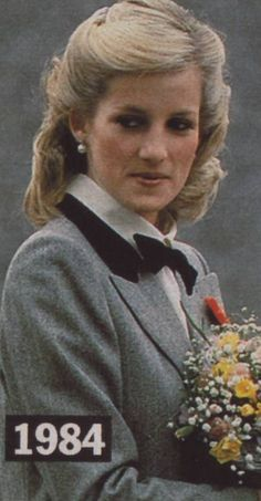 November 8, 1984: Princess Diana visits the Dr Barnado's Youth Treatment Project in Newham, East London.