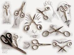 El curioso arte de Victor Nunes: combinando ilustraciones con objetos de la vida cotidiana.
