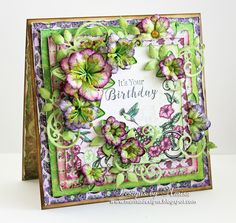 Hello Friends,  Move on over spring, and let summer begin…the new Classic Petunia Collection  by Heartfelt Creations has arrived! No flower ...
