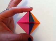 How to Make an Origami Modular Blow Spinner