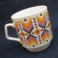 Směrem zpět...retro hrnek, Dubí Československo Retro, Mugs, Tableware, Design, Dinnerware, Tumblers, Tablewares, Mug