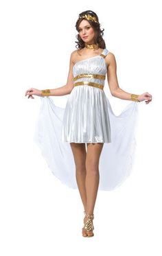 Womens Venus Roman Goddess Halloween Costume #CompleteCostume
