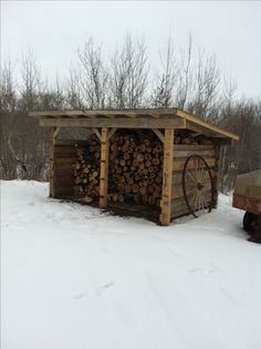 Wood shed Plus