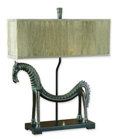 Tamil Horse, Table Lamp
