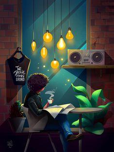 Night Sky Wallpaper, Anime Scenery Wallpaper, Cartoon Wallpaper, Image Joker, Cute Love Wallpapers, Animated Love Images, Photo Images, Art Et Illustration, Character Illustration