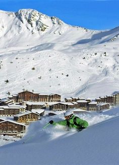 Among the Best Ski Resorts in Europe: La Plagne, France